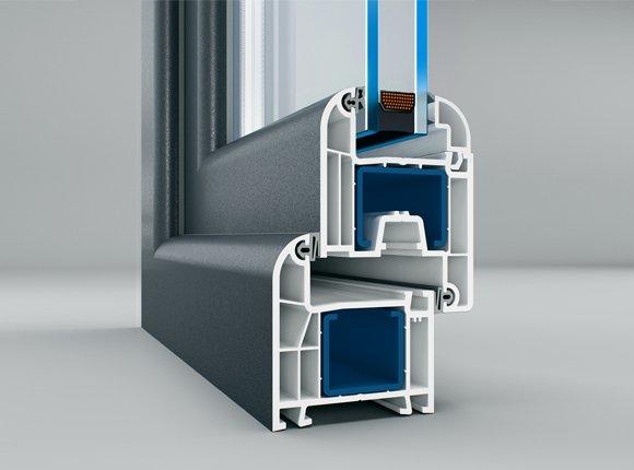 4-камерна PVC дограма за врати и прозорци