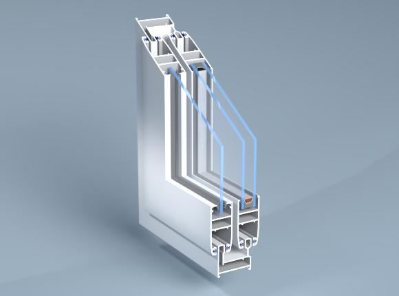 Алуминиева дограма – плъзгаща с непрекъснат термо мост