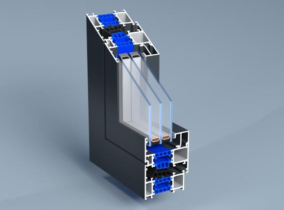 Алуминиева дограма с прекъснат термомост